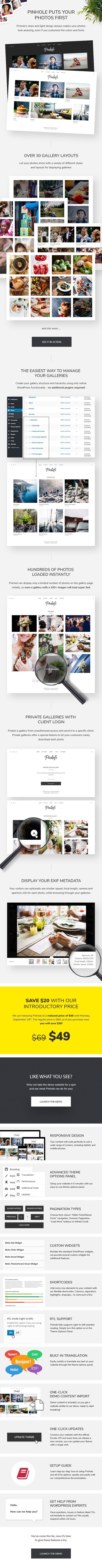 Pinhole - WordPress Gallery Theme for Photographers pinhole - wordpress gallery theme for photographers (photography) Pinhole – WordPress Gallery Theme for Photographers (Photography) pinhole item page promo v1