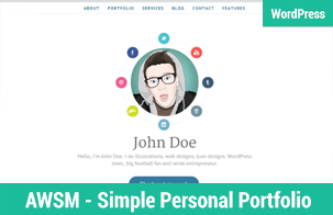 WordPress Simple Portfolio