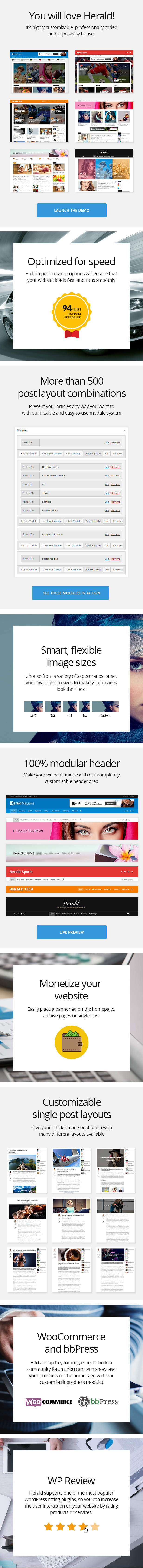 Herald - News Portal & Magazine WordPress Theme