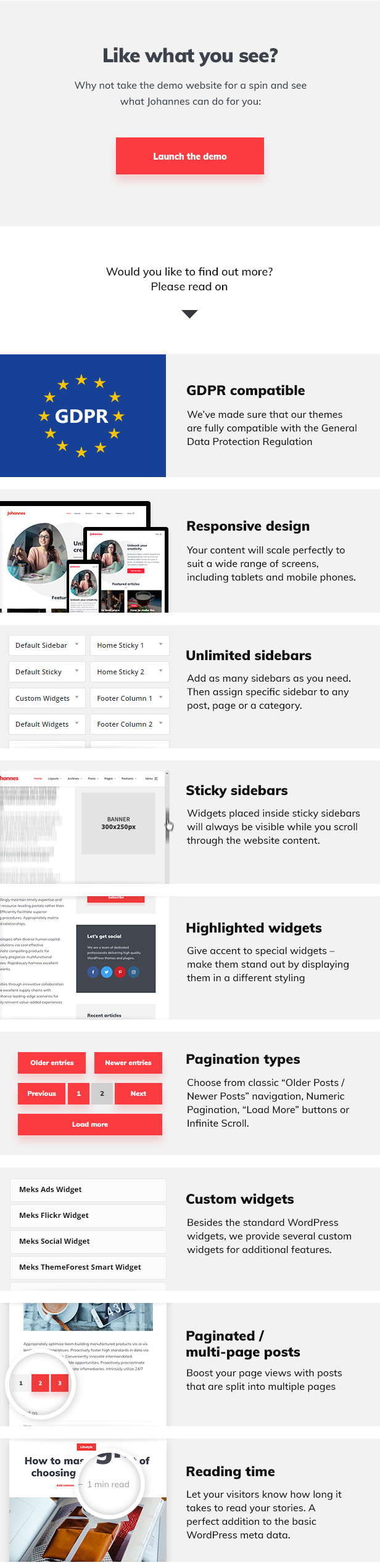 Johannes - Personal Blog Theme for WordPress Download