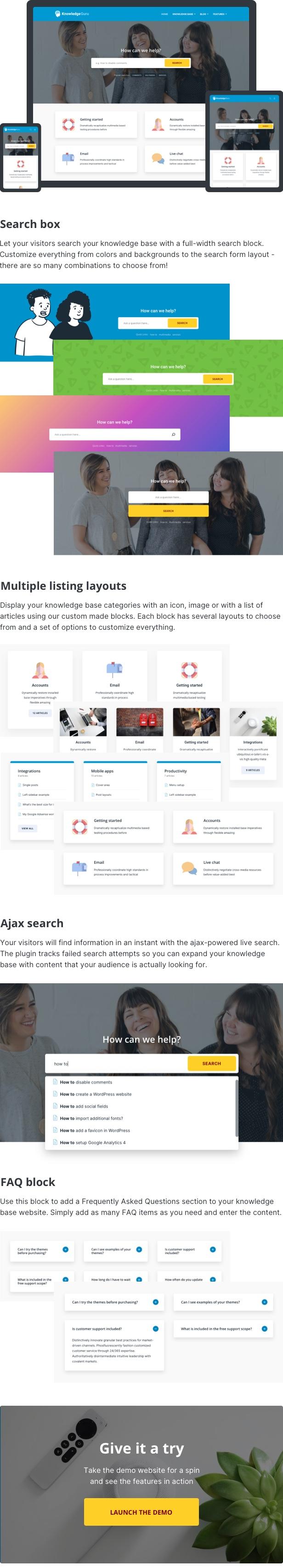 Knowledge Guru - Knowledge Base WordPress Theme - 1