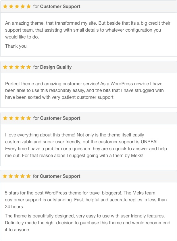 Trawell - WordPress travel theme