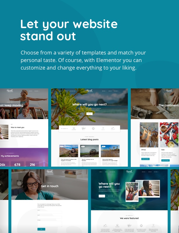 trawell_tk_02_v4 Trawell - Travel Blog Elementor Template Kit theme WordPress