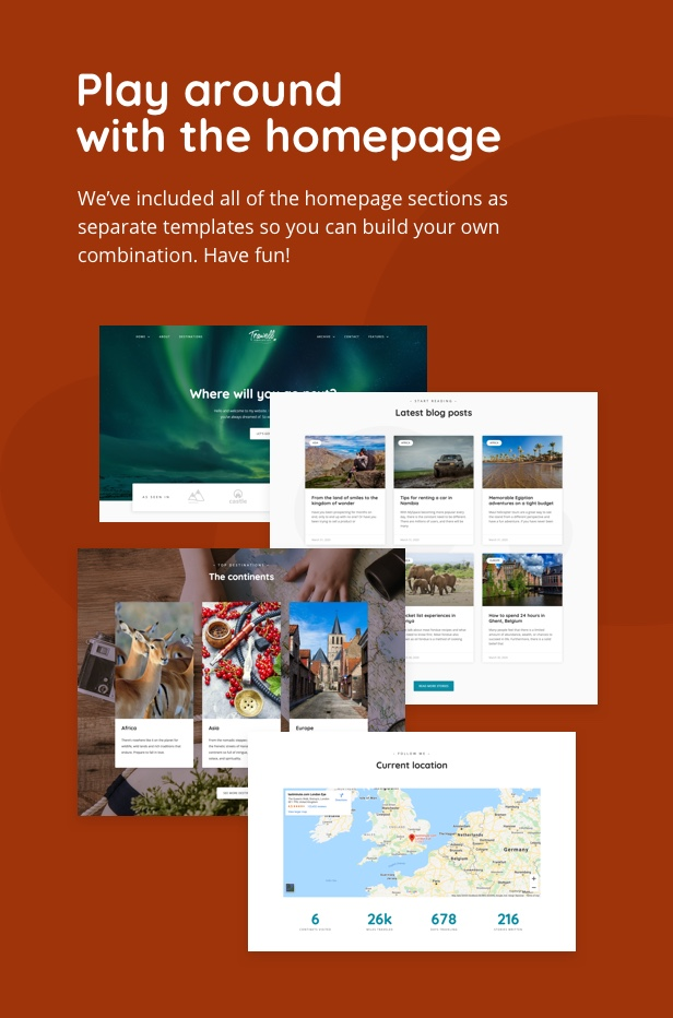 trawell_tk_03_v2 Trawell - Travel Blog Elementor Template Kit theme WordPress