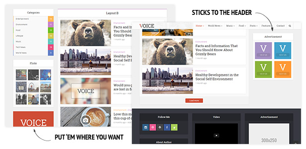Voice - Clean News/Magazine WordPress Theme